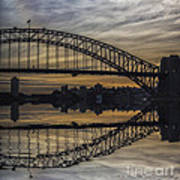 Sydney Harbour Late Afternoon Poster
