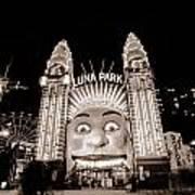 Sydney Luna Park Poster