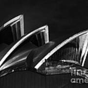 Sydney Opera House At Night Poster