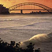Sydney Surf Time Poster