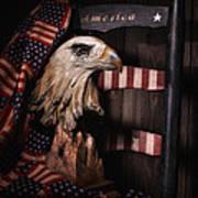 Symbol Of America Still Life Poster
