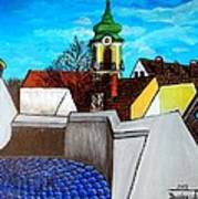Szentendre - View From The Castlehill Poster