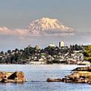 Tacoma City Skyline Poster