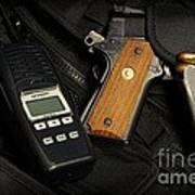 Tactical Gear - Gun  Poster
