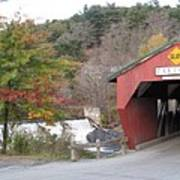 Taftsville Covered Bridge Vermont Poster