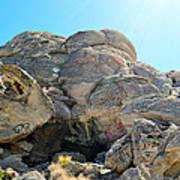 Tagged Rocks Poster