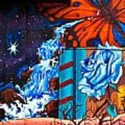 Tahlequah Graffiti Poster