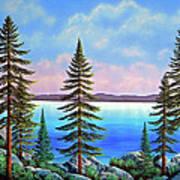 Tahoe Pines Poster