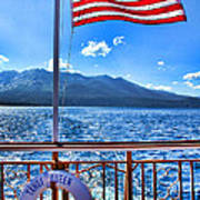 Tahoe Queen Lake Tahoe By Diana Sainz Poster