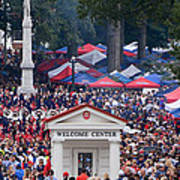 Tailgating At Ole Miss Poster