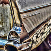 Taillight 1957 Chevy Bel Air Poster