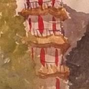Taiwan Pagoda Poster