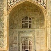 Taj Mahal Close Up Poster
