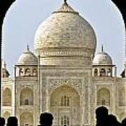 Taj Through The Gates Poster