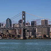 Taking The San Francisco Bay Ferry To Poster