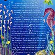 Tale-on-a-poster / The Baby Seahorse Poster