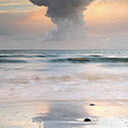 Talisker Bay At Sunset Poster