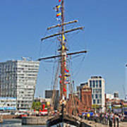 Tall Ship Astrid Poster