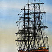 Tall Ship Beauty Poster