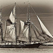 Tall Ship II Poster