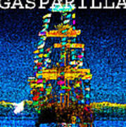 Tall Ship Jose Gasparilla Poster