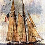 Tall Ships Art Poster