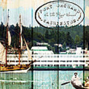Tall Ships On The Sound Poster