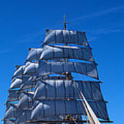 Tall Ships Race In The Ocean, Baie De Poster