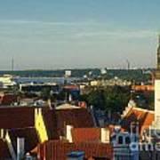 Tallinn Old Town 3 Poster