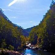 Tallulah Gorge In October Poster