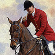 Tally Ho Detail Poster