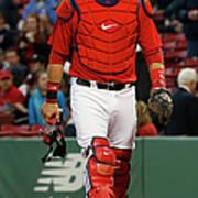 Tampa Bay Rays V Boston Red Sox Poster