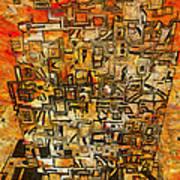 Tangerine Dream Poster by Jack Zulli