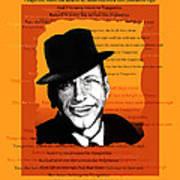 Tangerine Swing Poster