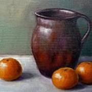 Tangerines Poster by Janet King