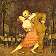 Tango En La Plaza De Mayo Poster