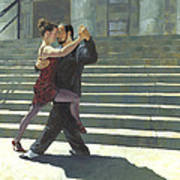 Tango On The Square Poster