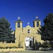 Taos Adobe Church Poster