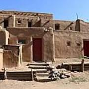 Taos Red Doors  Poster