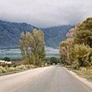 Taos Road Poster