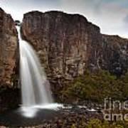 Taranaki Falls In Tongariro Np New Zealand Poster