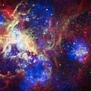 Tarantula Nebula 6  Poster by Jennifer Rondinelli Reilly - Fine Art Photography