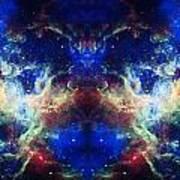 Tarantula Nebula Reflection Poster
