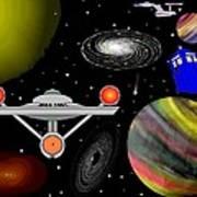 Tardis Trek Poster