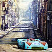 Targa Florio 1970  Porsche 908 Siffert Poster
