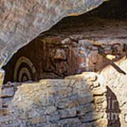 Target Bullseye Anasazi Ruin Poster