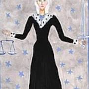 Tarot 8 Justice Poster