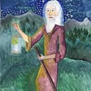 Tarot 9 The Hermit Poster
