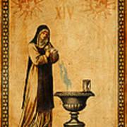 Tarot Card Temperance  Poster