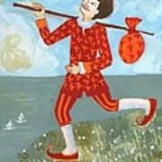 Tarot The Fool Poster